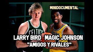 Larry Bird & Magic Johnson -