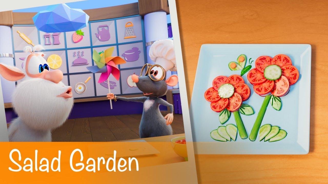 Booba - Food Puzzle: Salad Garden - Episode 17 - Cartoon for kids