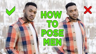 Tips for How to Pose Male Subjects | Poses for Guys