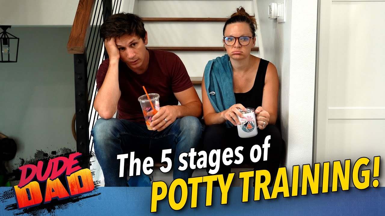 5 stages of potty training