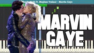 Marvin Gaye Piano Tutorial - Free Sheet Music (Charlie Puth Ft. Meghan Trainor)