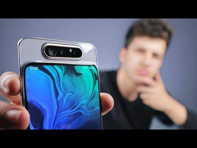 Samsung Galaxy A80   أغرب موبايل في تاريخ سامسونج !