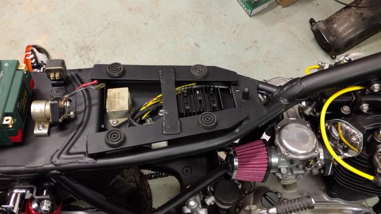 xs650 electrical layout [ 1280 x 720 Pixel ]