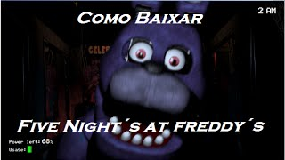 Como baixar e instalar Five Nights at Freddy´s [PT-BR]