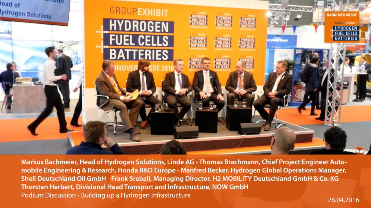 Linde AG at Europe's largest hydrogen, fuel cells and