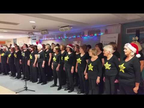Basingstoke rock choir at hants hospital