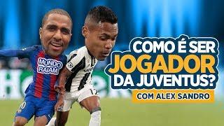 Hoje entrevistei o alex sandro melhor lateral-esquerdo do brasil, campeão da copa américa e titular a 4 anos juventus, cara que fez faz diferença po...