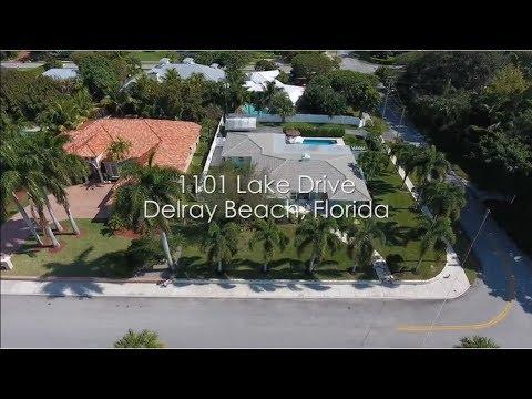 Delray Beach Real Estate - Luxury Home Delray Beach - 1101 Lake Drive, Delray Beach, FL