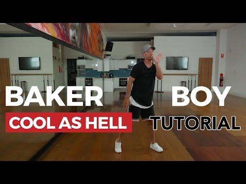 Baker Boy - Cool As Hell (Dance Tutorial)