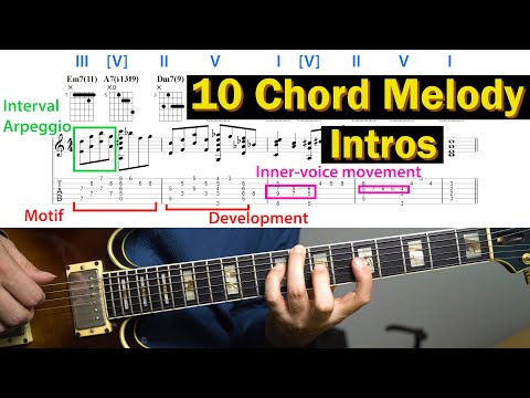 10 Chord Melody Intros You Need To Know
