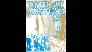 Rapider Than Horsepower - Tour CD-r