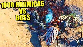 INSECTO DE FUEGO Vs +1000 HORMIGAS - EMPIRES OF THE UNDERWORLD | Gameplay Español