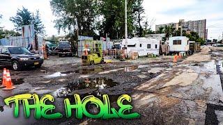 ⁴ᴷ⁶⁰ Walking NYC's Sketchiest Neighborhood : The Hole