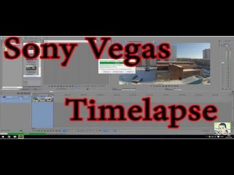 как смонтировать таймлапс в сони вегас 14 (how To Make Timelaps)