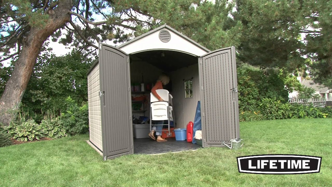 Lifetime 8X10 Shed