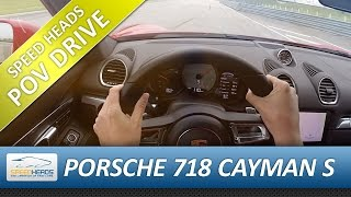 POV Drive - Porsche 718 Cayman S Onboard Test drive (pure driving, no talking)