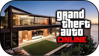 GTA 5 Independence Day - Special New House Apartment Tour on GTA 5 Online (GTA 5 Independence Day)