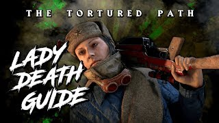 *LADY DEATH* GUIDE - SECRET CHARACTER / SOLO - THE TORTURED PATH [COD WW2 ZOMBIES]