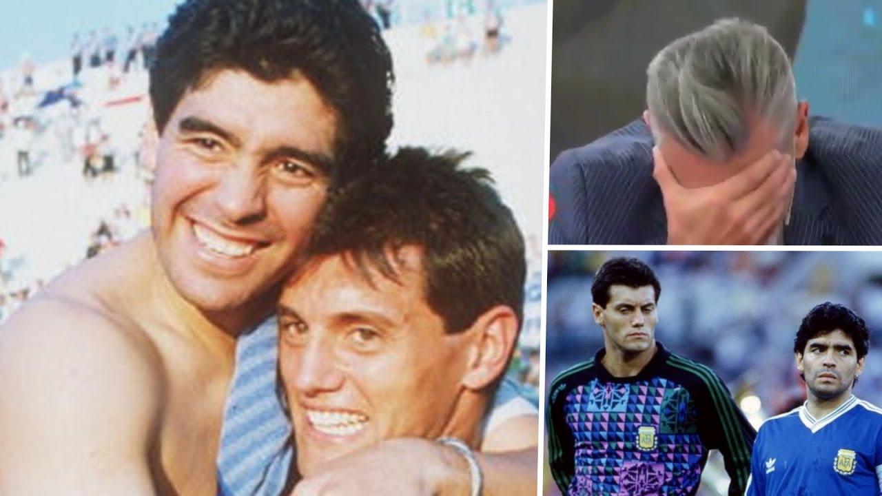 """Goycochea se quebró por Maradona: """"Se fue un pedazo de mi vida"""""""