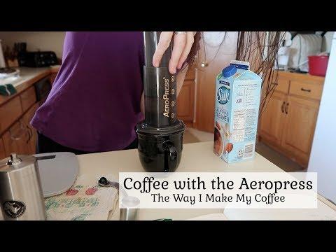 Coffee with the Aeropress ~ How I Make My Coffee