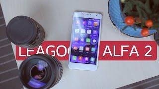Leagoo Alfa 2 распаковка и первое впечатление. Неужели годный ультрабюджетник?