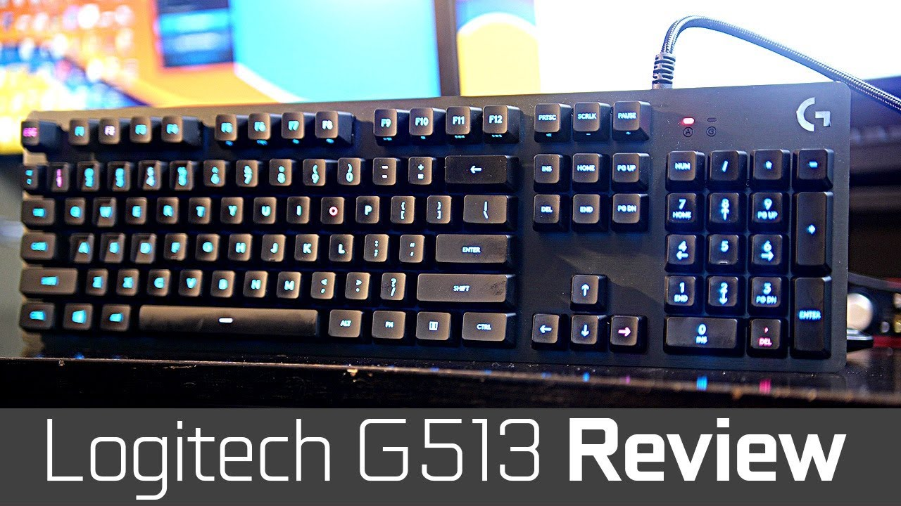 Logitech G513 Keyboard