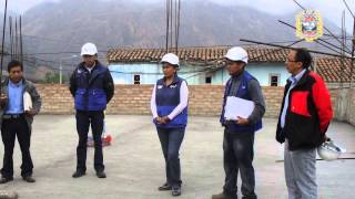 Entrega de Terreno de la obra:  Local Comunal del Barrio Santa Rosa III Etapa