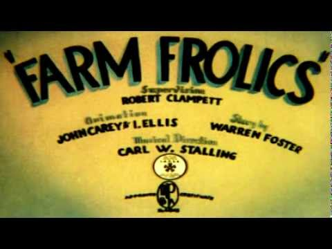 Farm Frolics (1941) - original titles recreation