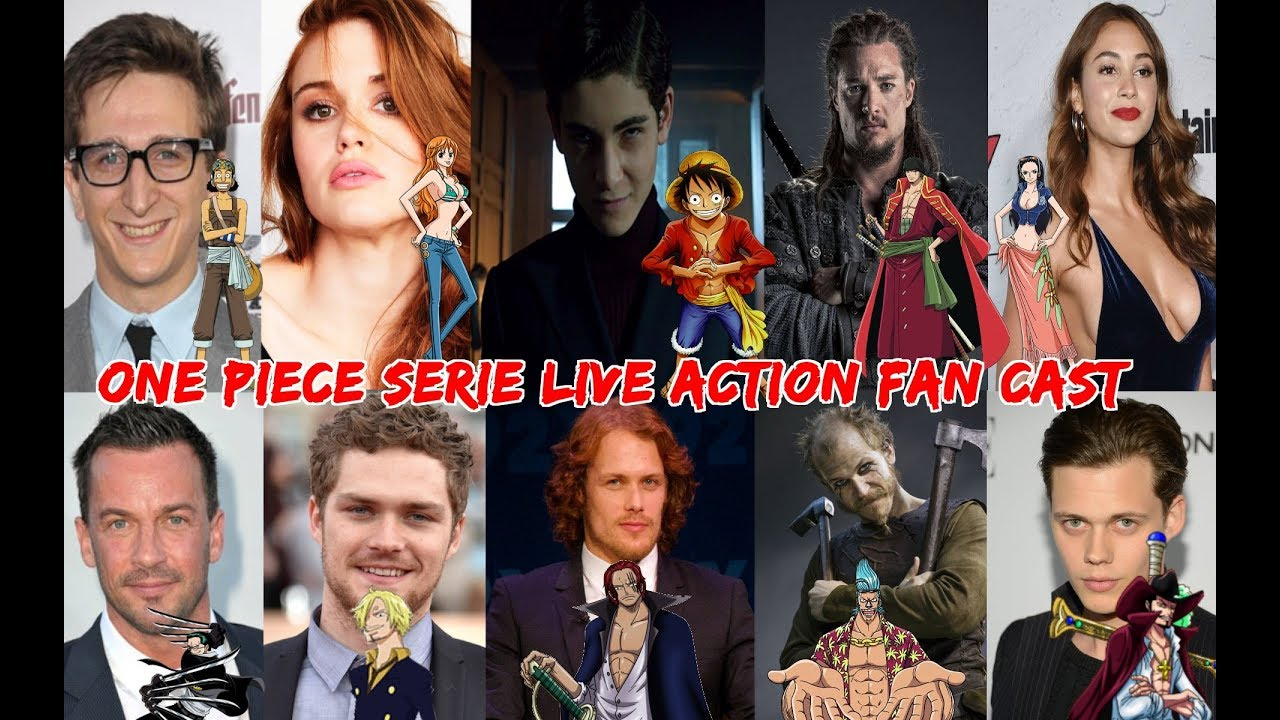 One Piece Serie Live Action Fan Cast - YouTube