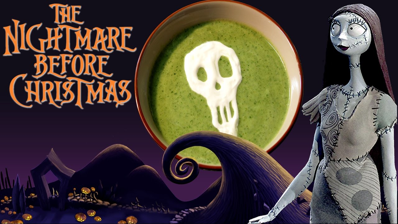 How to Make SALLY\'S SOUP from The Nightmare Before Christmas ...