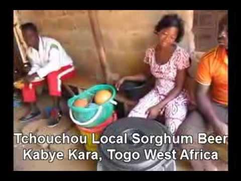 Homemade Sorghum Beer Tchouchou Kabye