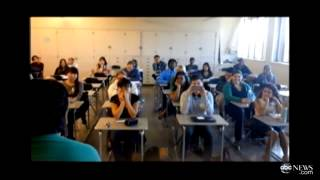 community college student pranks class with semester long accent