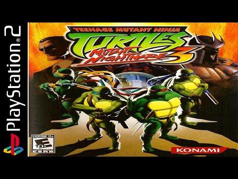 Teenage Mutant Ninja Turtles 3: Mutant Nightmare 100% - Full Game Walkthrough / Longplay (PS2)