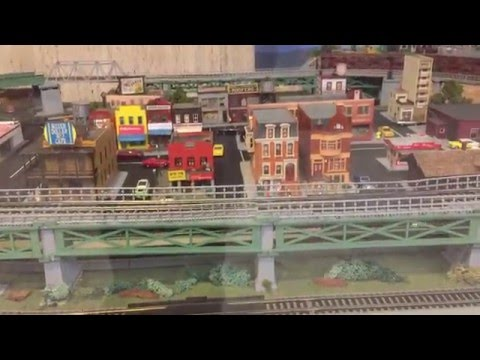 Model railways at Septa Transit Museum Pennsylvania Philadelphia (02608)
