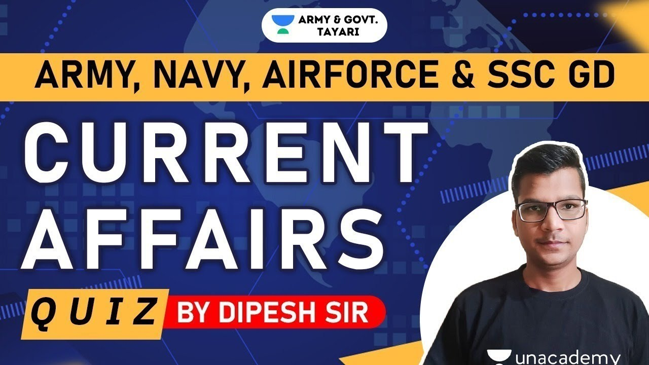 7:30 PM - Daily Current Affairs Quiz by Dipesh Kumar | 25 November 2020 | Current Affairs Today