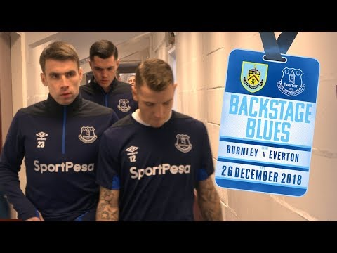 BEHIND THE SCENES ON BOXING DAY! | BACKSTAGE BLUES: BURNLEY V EVERTON