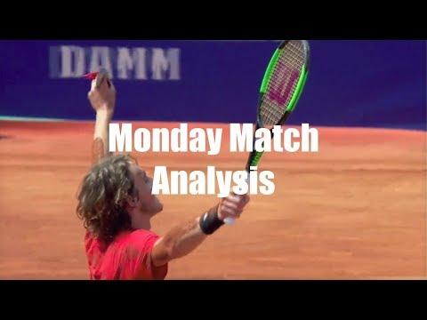 Monday Match Analysis: Evaluating Stefanos Tsitsipas