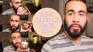 Bath and Body Works Candle Haul 2014: (Candle Burning Tips and Tricks)