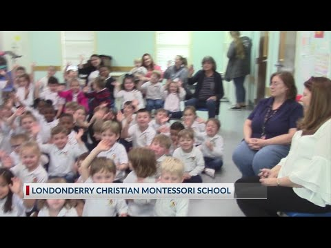 Rob Fowler visits Londonderry Christian Montessori School in Goose Creek