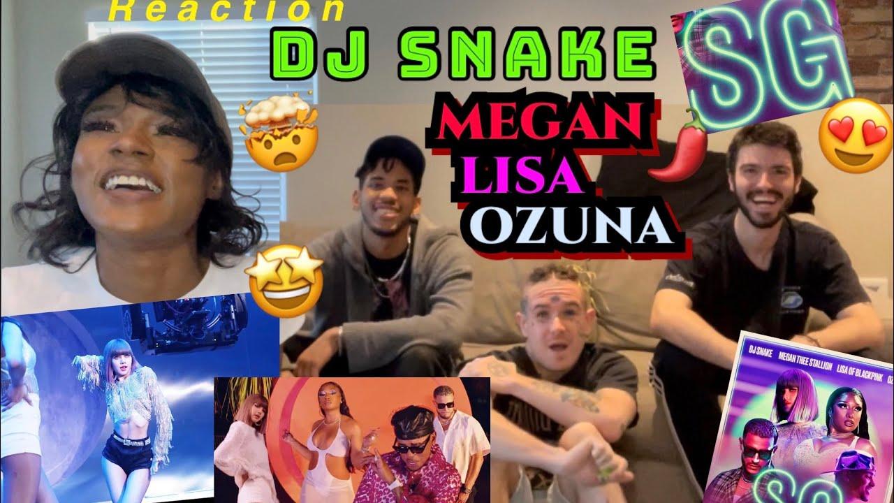 Download DJ SNAKE LISA MEGAN OZUNA REACTION