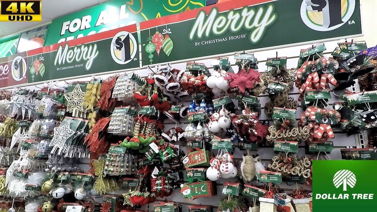Dollar General Christmas Decorations.Dollar Tree Christmas 2018 Section Christmas Ornaments Decorations Home Decor Shopping