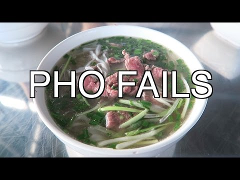 HANOI VIETNAM PHO FAIL