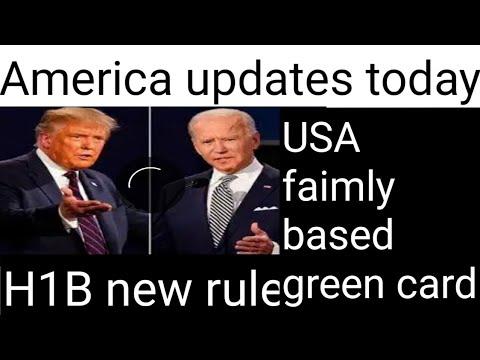 America Update Today H1b News. Visa Bulletin October. B1:B2: News Explained.