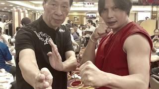 Muay Thai Fighter Simon Kook learning Wing Chun on AMPD MAGAZINE