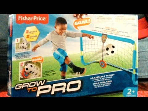 Fisher-Price Grow To Pro Super Sounds Soccer - Unboxing & Demo