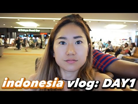 INDONESIA VLOG Day 1: Arriving to Jakarta, Hotel Room Tour|PlaythislifeAzusa