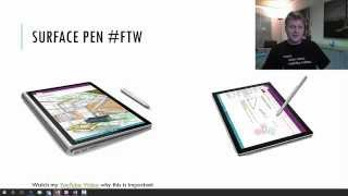 Surface Pro 4 Pen Tip Tricks
