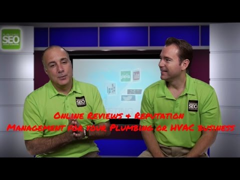 Reviews & Reputation for your Plumbing & HVAC Business