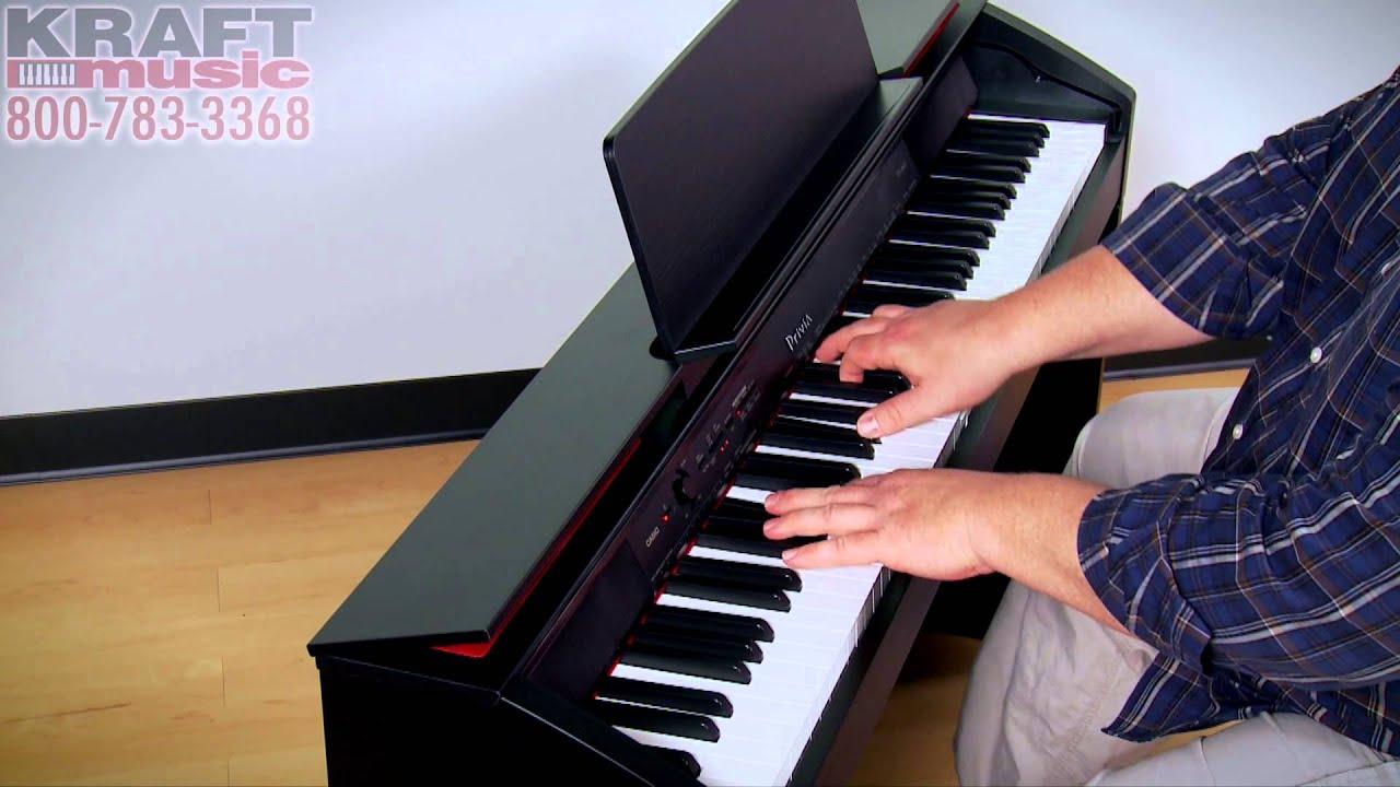 kraft music casio privia px 860 digital piano performance with adam berzowski youtube. Black Bedroom Furniture Sets. Home Design Ideas