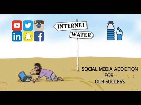 SOCIAL MEDIA ADDICTION TECHNIQUES FOR SUCCESS !! (HINDI) - ANIMATED SUMMARY